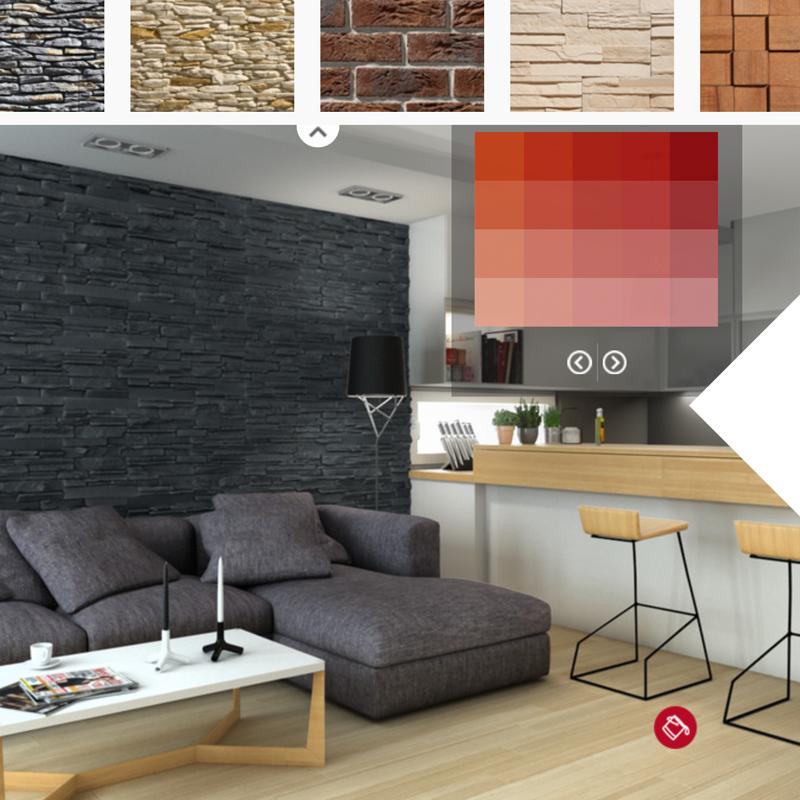 parement pierre int rieur naturelle stegu. Black Bedroom Furniture Sets. Home Design Ideas